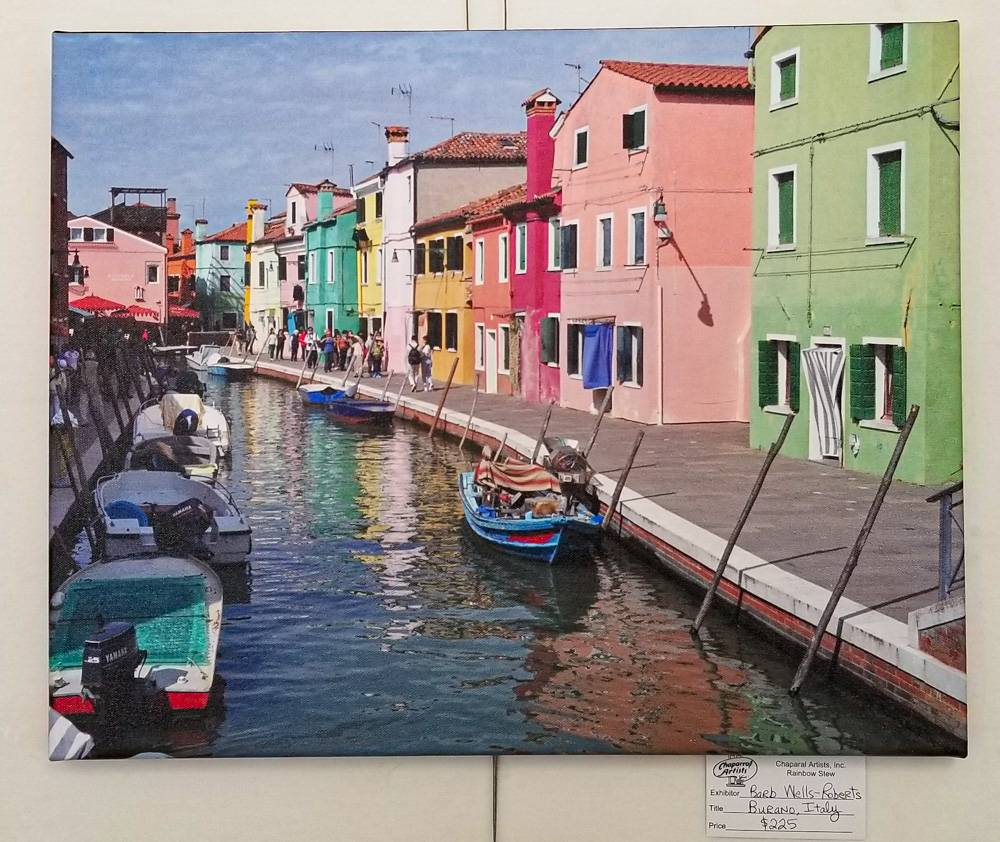 Burano, Italy by Barb Wells-Roberts