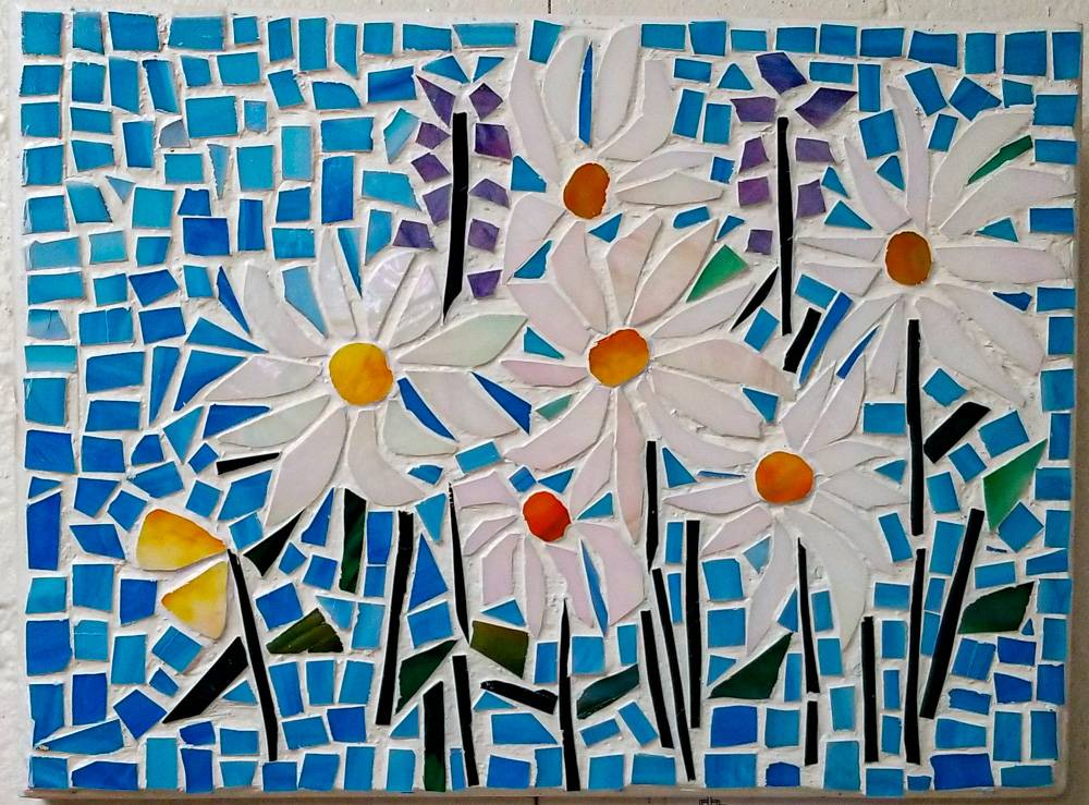 Daisies by Nancy Miehle